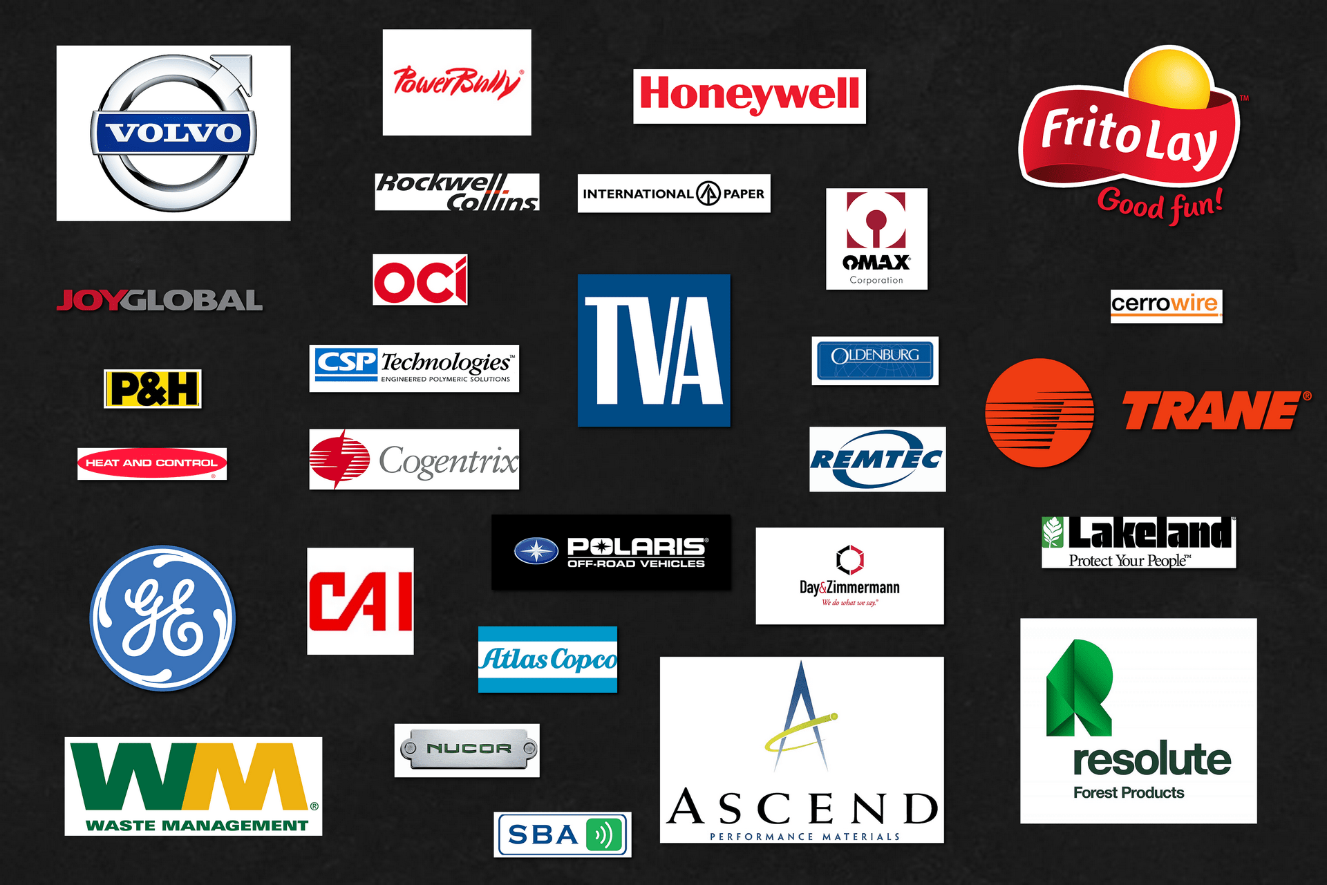 Corporate Clients Logo Composite